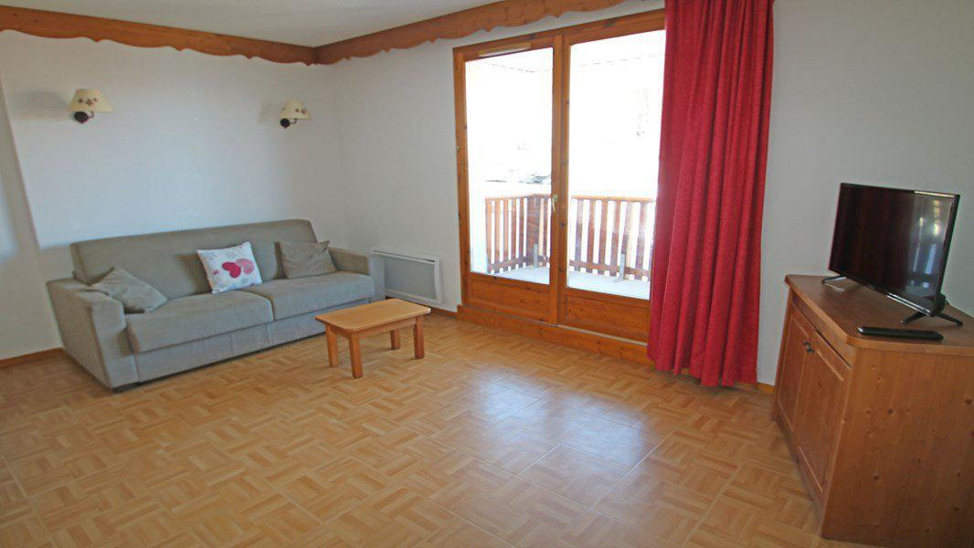 Wakacje w górach Apartament 2 pokojowy 4 osób (C27) - Résidence Gentianes - Puy-Saint-Vincent - Pokój gościnny