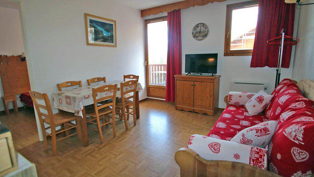 Wakacje w górach Apartament 3 pokojowy 6 osób (D26) - Résidence Gentianes - Puy-Saint-Vincent - Pokój gościnny
