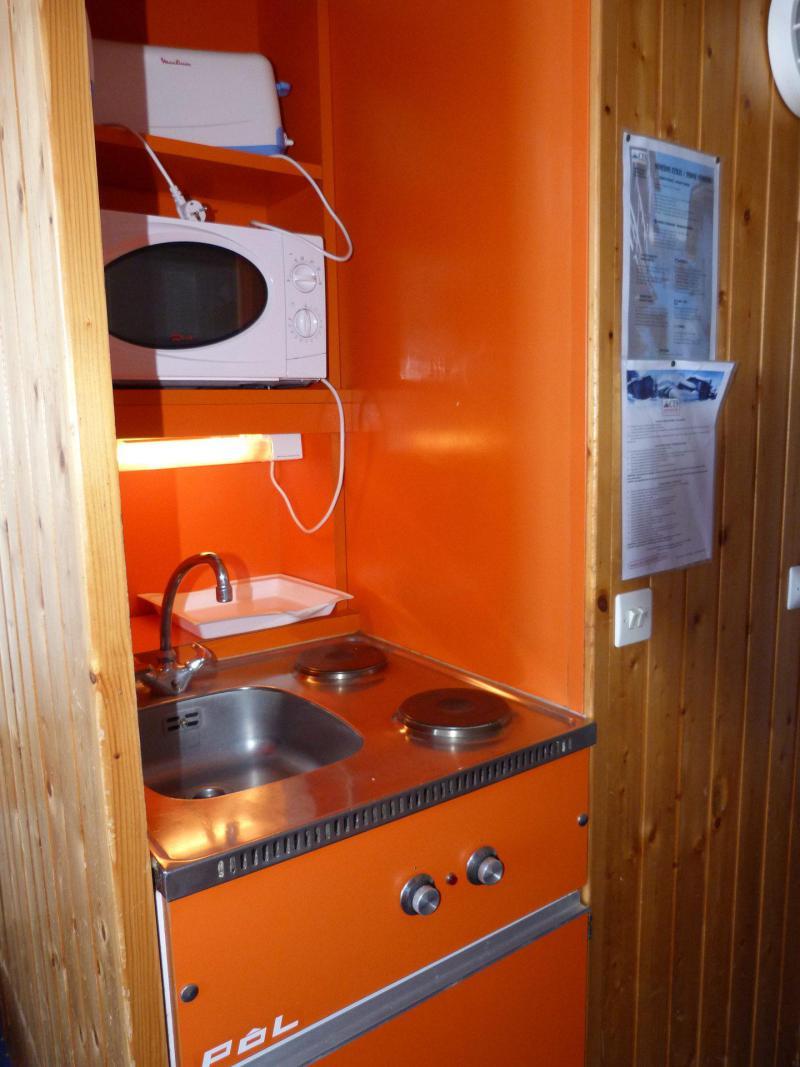 Vacances en montagne Studio 2 personnes (1120) - Résidence Grand Arbois - Les Arcs - Cuisine