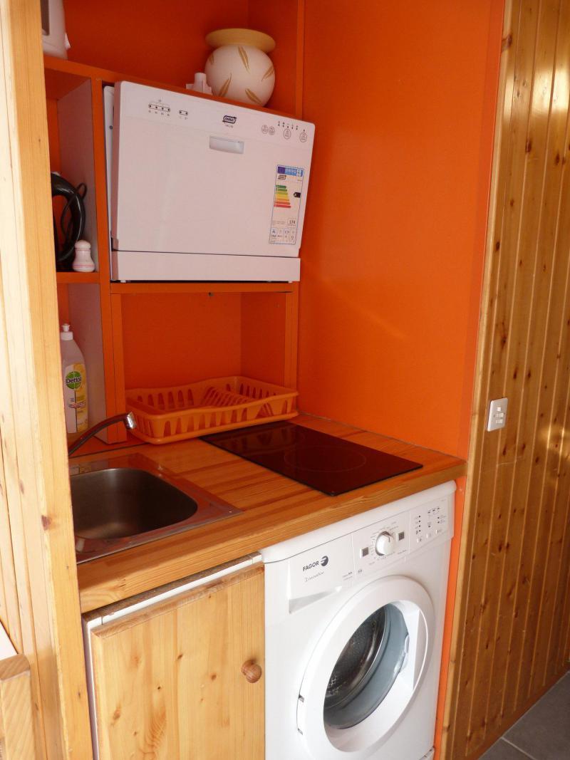 Vacances en montagne Studio coin montagne 4 personnes (405) - Résidence Grand Arbois - Les Arcs - Cuisine