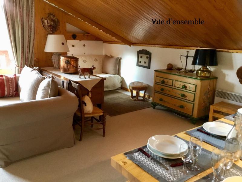 Vacaciones en montaña Apartamento 3 piezas para 6 personas (A25) - Résidence Grand Dou - Méribel-Mottaret - Salón