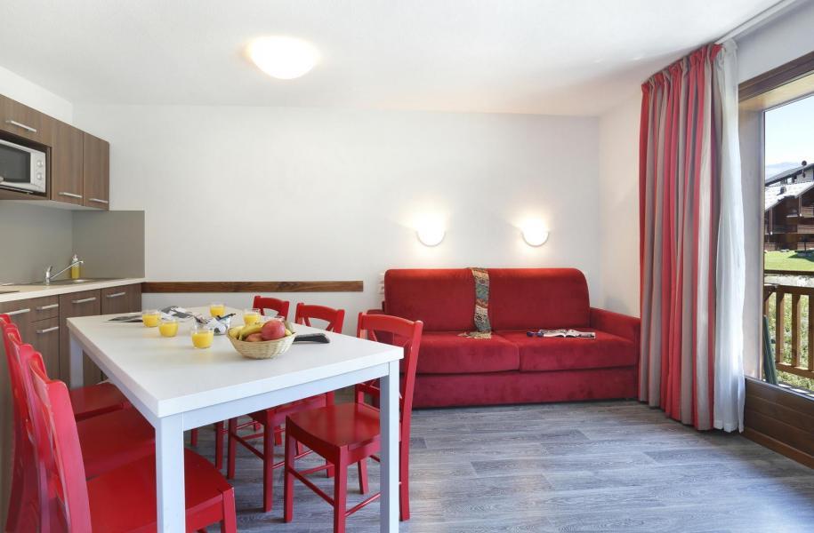 Urlaub in den Bergen Résidence Grand Massif - Morillon - Wohnzimmer