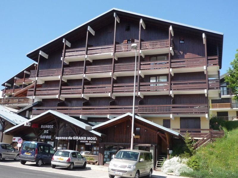 Vacaciones en montaña Résidence Grand Mont 1 - Les Saisies - Verano