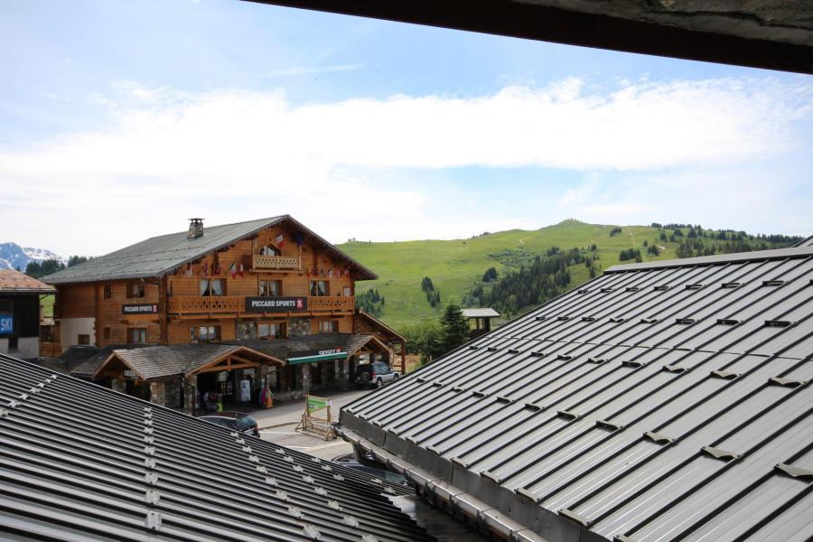 Vacaciones en montaña Apartamento 2 piezas cabina para 4 personas (CHAUDR) - Résidence Grand Mont 1 - Les Saisies - Verano