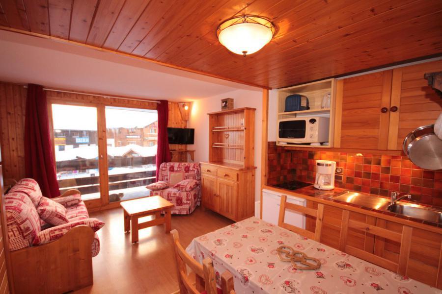 Vacaciones en montaña Estudio -espacio montaña- para 4 personas (1101) - Résidence Grand Mont 1 - Les Saisies
