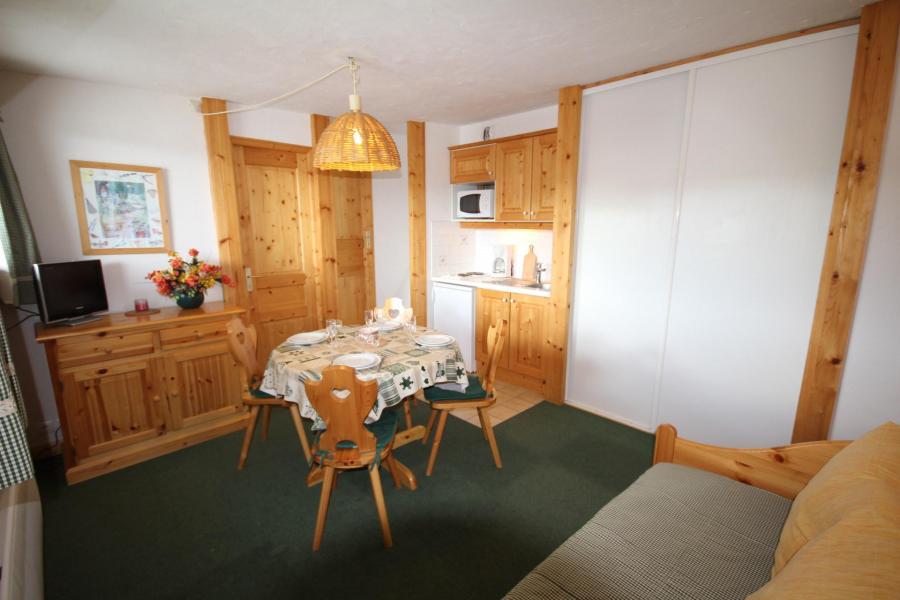 Vacaciones en montaña Apartamento 2 piezas cabina para 4 personas (CHAUDR) - Résidence Grand Mont 1 - Les Saisies - Estancia