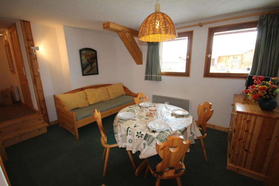 Vacaciones en montaña Apartamento 2 piezas cabina para 4 personas (CHAUDR) - Résidence Grand Mont 1 - Les Saisies - Mesa