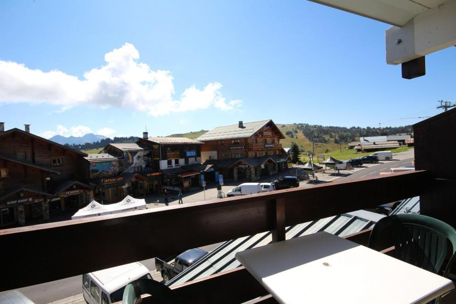 Vacaciones en montaña Estudio -espacio montaña- para 4 personas (1103) - Résidence Grand Mont 1 - Les Saisies - Balcón