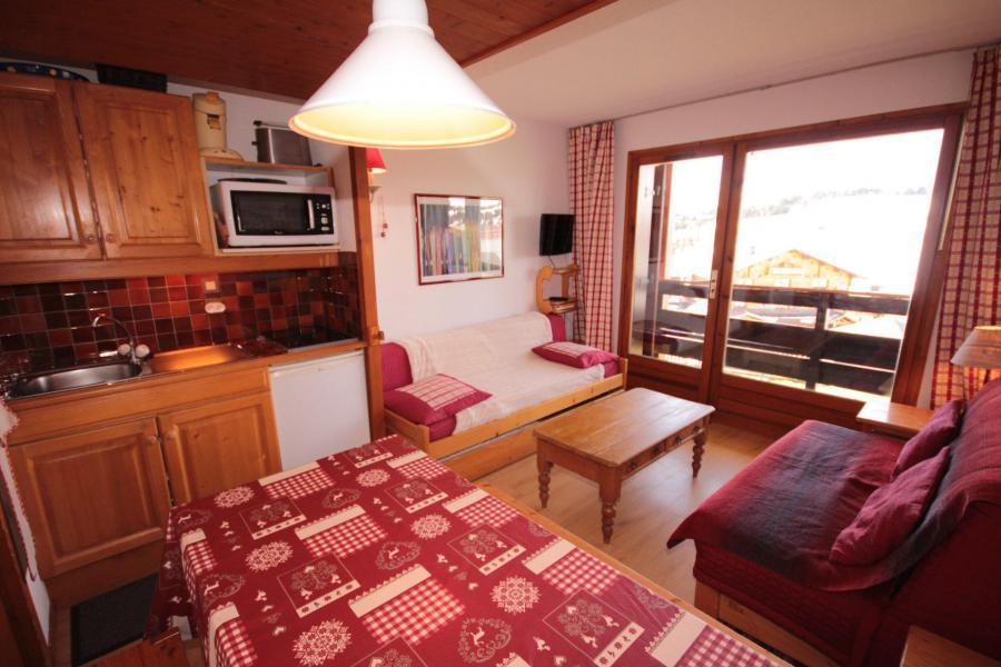 Vacaciones en montaña Estudio -espacio montaña- para 4 personas (2208) - Résidence Grand Mont 2 - Les Saisies