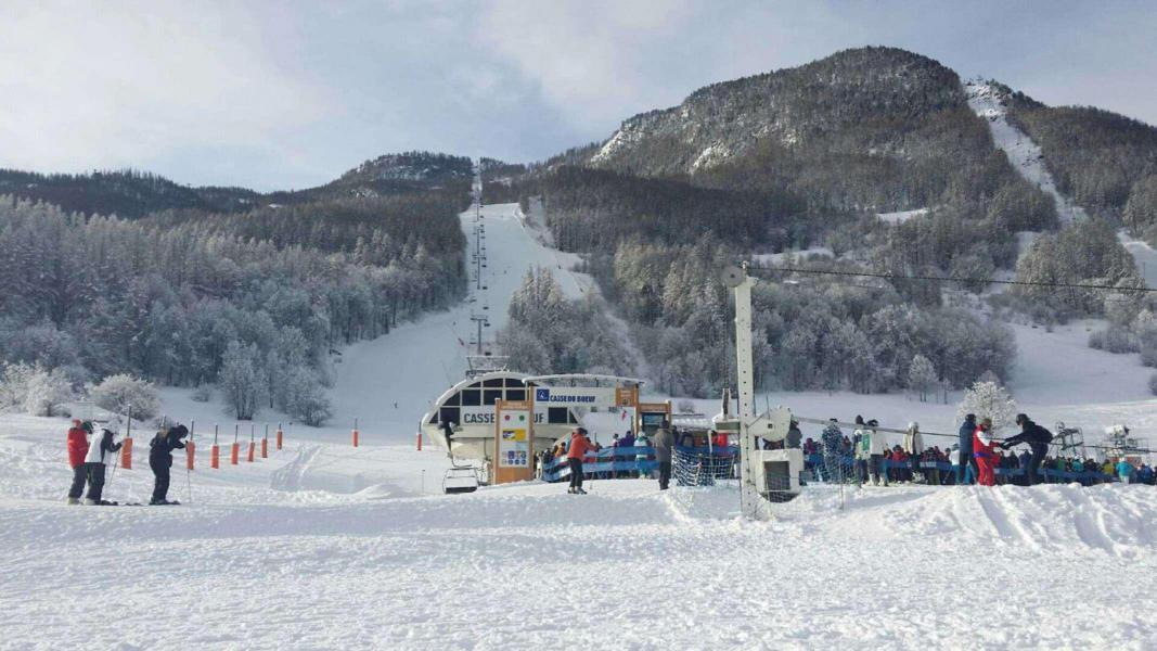 Vacances en montagne Studio coin montagne 4 personnes (107) - Résidence Grand Pré - Serre Chevalier
