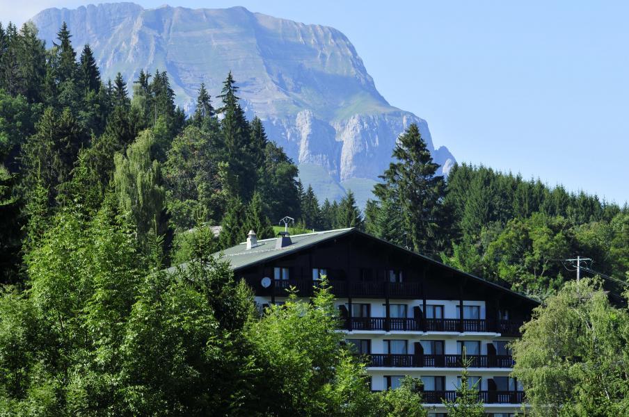 Vacances en montagne Résidence Grande Cordée - Combloux - Extérieur été