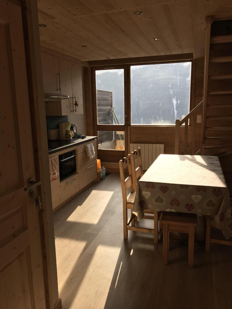 Wakacje w górach Apartament duplex 3 pokojowy 6 osób (021A) - Résidence Hameau des Quatre Saisons - Châtel - Zakwaterowanie