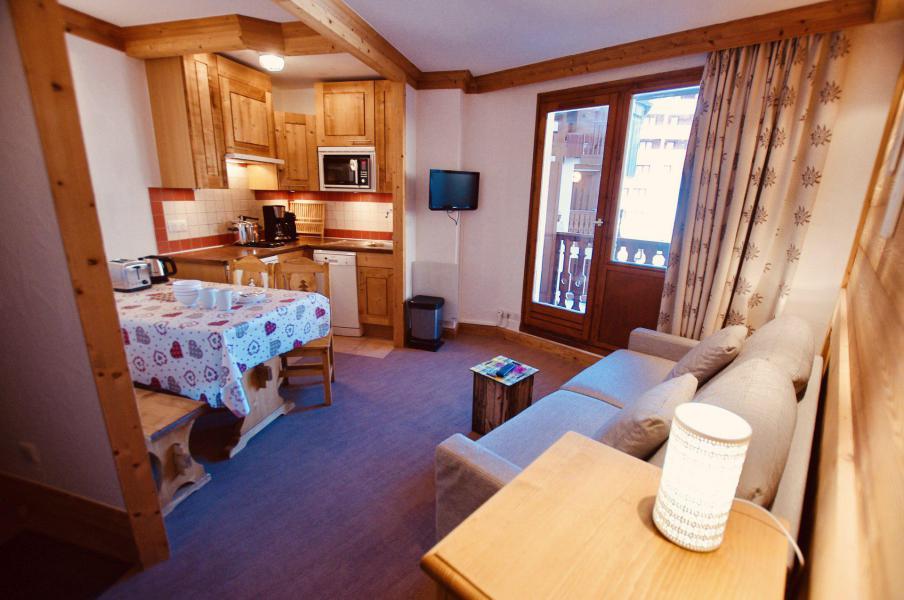 Каникулы в горах Апартаменты 2 комнат 4 чел. (1215CL) - Résidence Hameau du Borsat - Tignes
