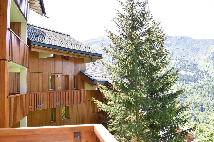 Location au ski Appartement duplex 5 pièces 8 personnes (18) - Résidence Hauts de Chantemouche - Méribel - Extérieur été