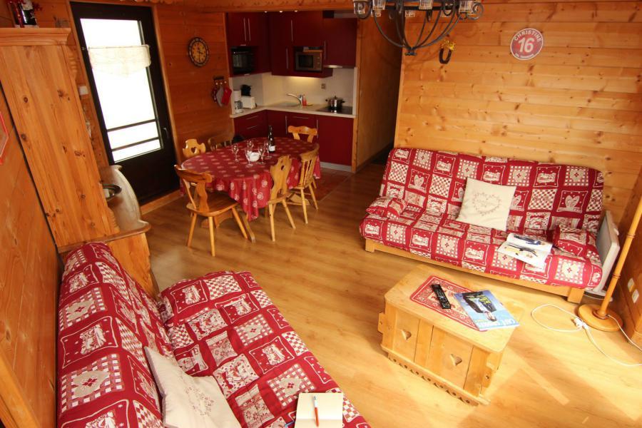 Vacances en montagne Appartement 3 pièces 6 personnes (12) - Résidence Hauts de Chavière - Val Thorens - Banquette-lit