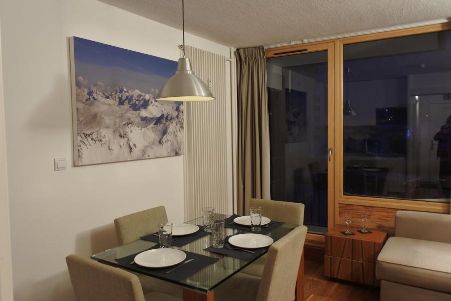 Vacances en montagne Studio coin montagne 4 personnes (052R) - Résidence Home Club - Tignes - Séjour