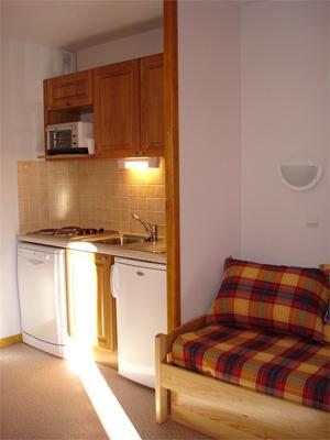 Vacances en montagne Appartement 2 pièces 4 personnes - Résidence Horizon Blanc - La Joue du Loup - Kitchenette