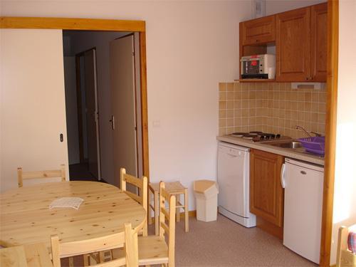 Vacances en montagne Appartement 3 pièces 8 personnes - Résidence Horizon Blanc - La Joue du Loup - Séjour