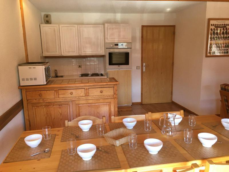 Holiday in mountain resort 4 room mezzanine apartment 8 people (D2) - Résidence Hors Piste - Saint Martin de Belleville