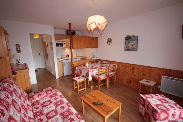 Vacaciones en montaña Apartamento 2 piezas para 5 personas (37) - Résidence Isabelle B - Les Saisies - Estancia