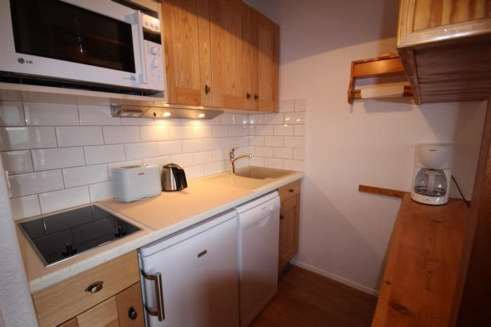 Vacaciones en montaña Apartamento 2 piezas para 5 personas (37) - Résidence Isabelle B - Les Saisies - Kitchenette