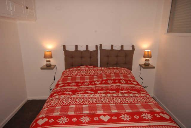 Holiday in mountain resort 3 room apartment cabin 8 people (ISA53) - Résidence Isards - Gourette - Bedroom