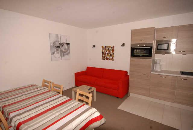 Holiday in mountain resort 3 room apartment cabin 8 people (ISA53) - Résidence Isards - Gourette - Living room