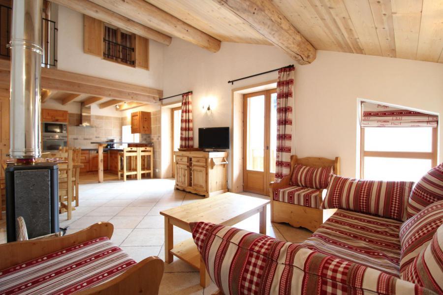 Vakantie in de bergen Appartement 4 kamers mezzanine 10 personen - Résidence Jorcin Lanslebourg - Val Cenis - Verblijf