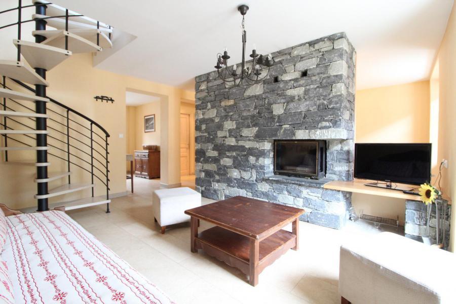 Vacances en montagne Appartement 4 pièces mezzanine 10 personnes (002) - Résidence Jorcin Lanslebourg - Val Cenis - Séjour