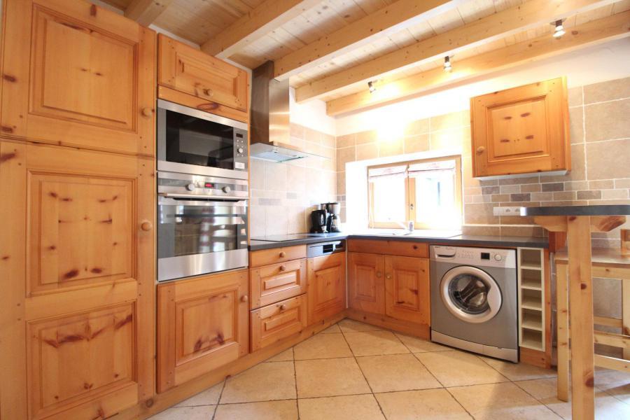 Vacances en montagne Appartement 4 pièces mezzanine 10 personnes - Résidence Jorcin Lanslebourg - Val Cenis - Cuisine
