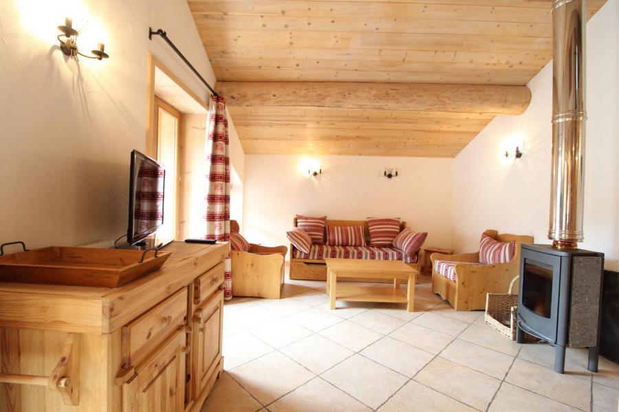 Vacances en montagne Appartement 4 pièces mezzanine 10 personnes - Résidence Jorcin Lanslebourg - Val Cenis - Séjour