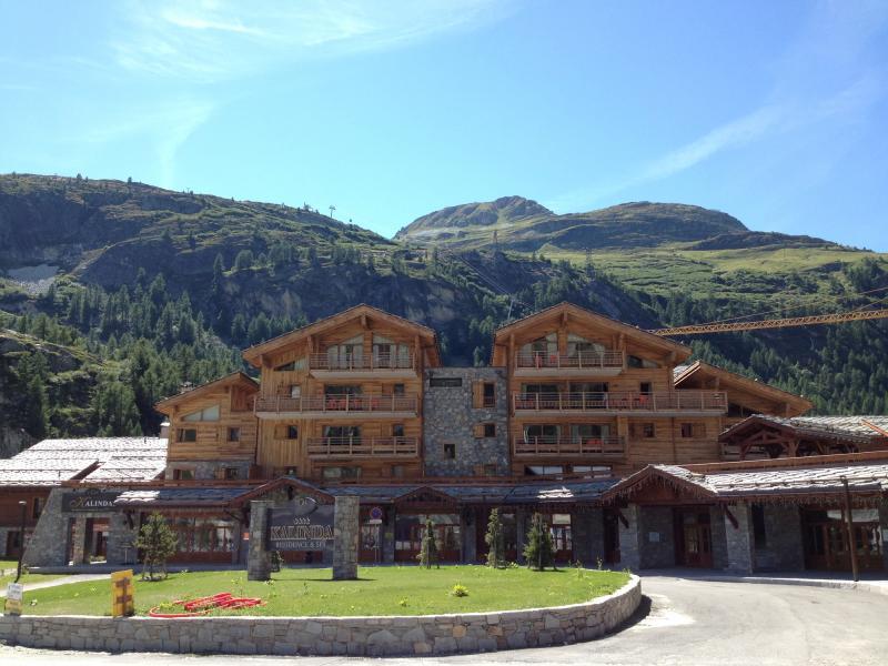 Location au ski Residence Kalinda Village - Tignes - Extérieur été