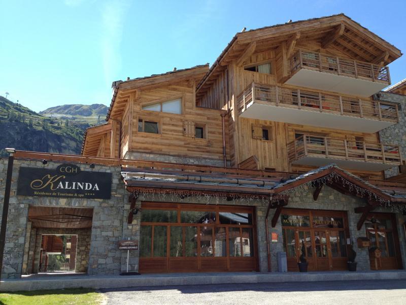 Location au ski Résidence Kalinda Village - Tignes - Extérieur été