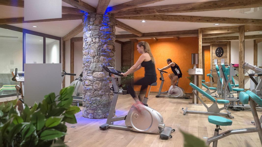 Vacances en montagne Résidence Kalinda Village - Tignes - Espace fitness