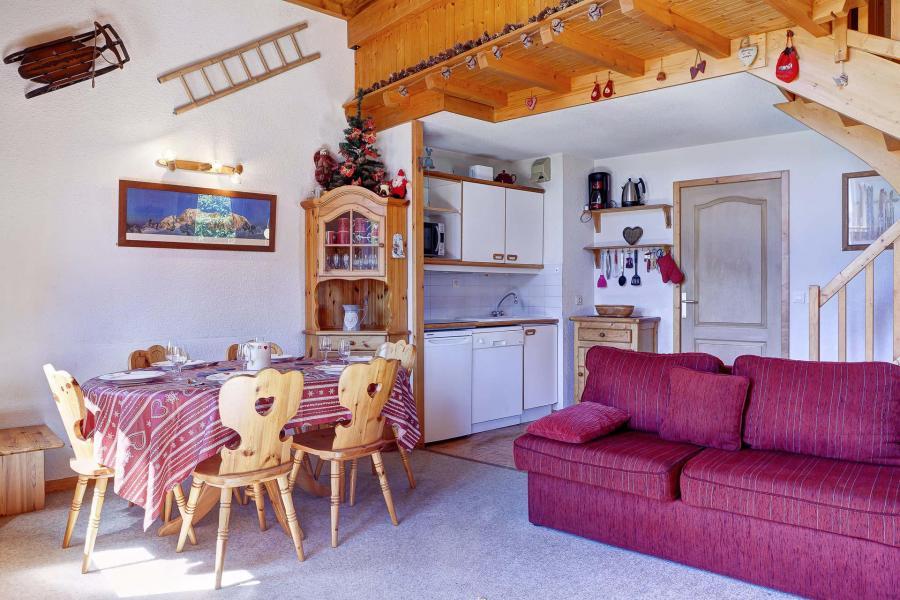 Vacances en montagne Appartement duplex 3 pièces 10 personnes (210) - Résidence Kalinka - La Tania - Séjour