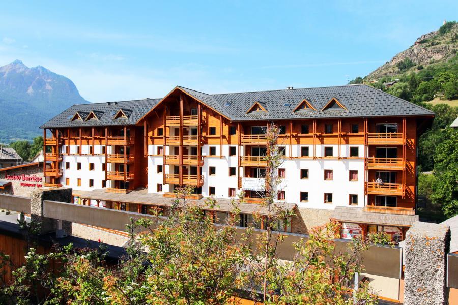 Vakantie in de bergen Résidence l'Aigle Bleu - Serre Chevalier - Buiten zomer
