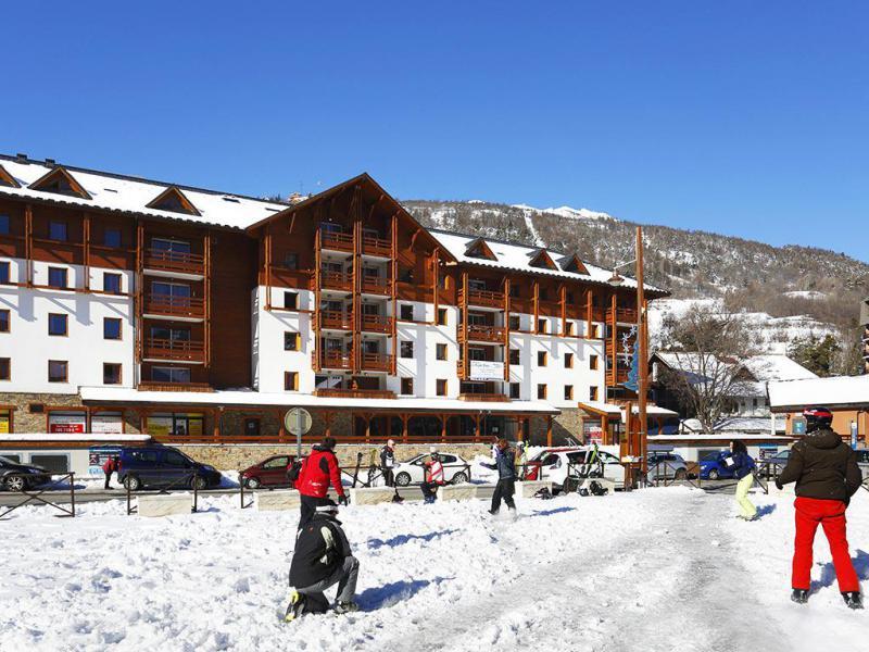 Vakantie in de bergen Résidence l'Aigle Bleu - Serre Chevalier