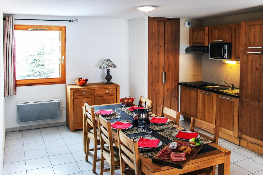 Vacances en montagne Résidence l'Aigle Bleu - Serre Chevalier - Salle à manger