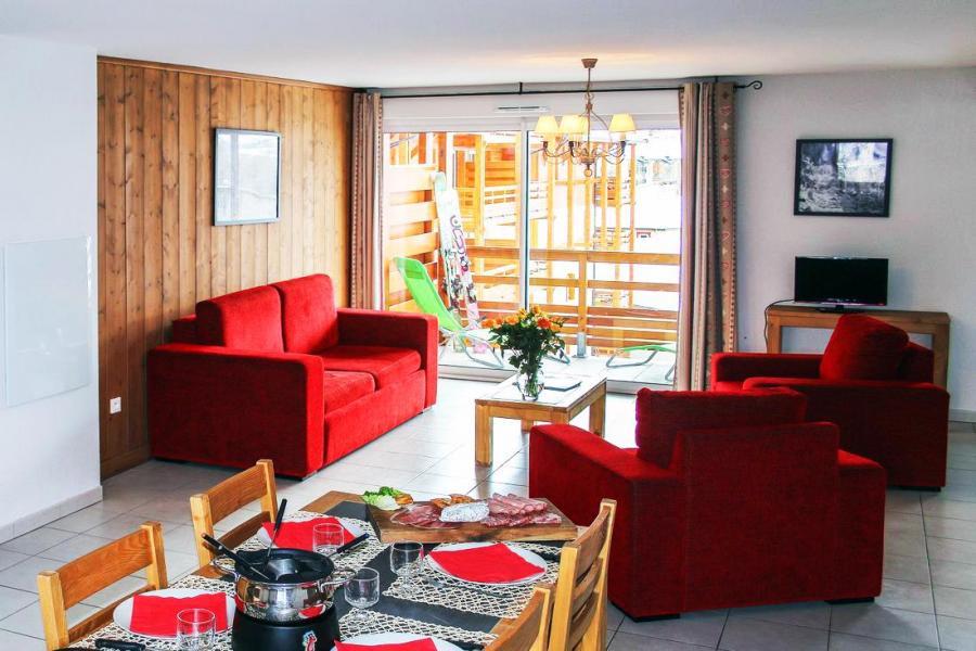 Vakantie in de bergen Résidence l'Aigle Bleu - Serre Chevalier - Sofa