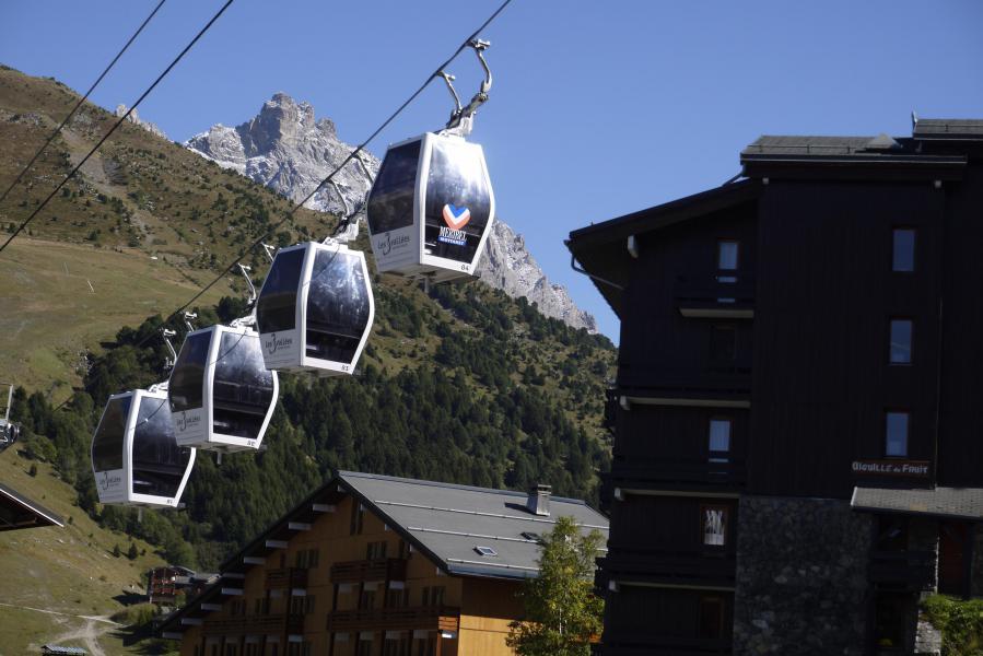 Vacaciones en montaña Estudio para 4 personas (04) - Résidence l'Aiguille du Fruit - Méribel-Mottaret