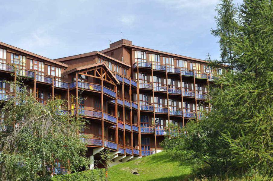Vakantie in de bergen Résidence l'Aiguille Grive 1 - Les Arcs - Buiten zomer