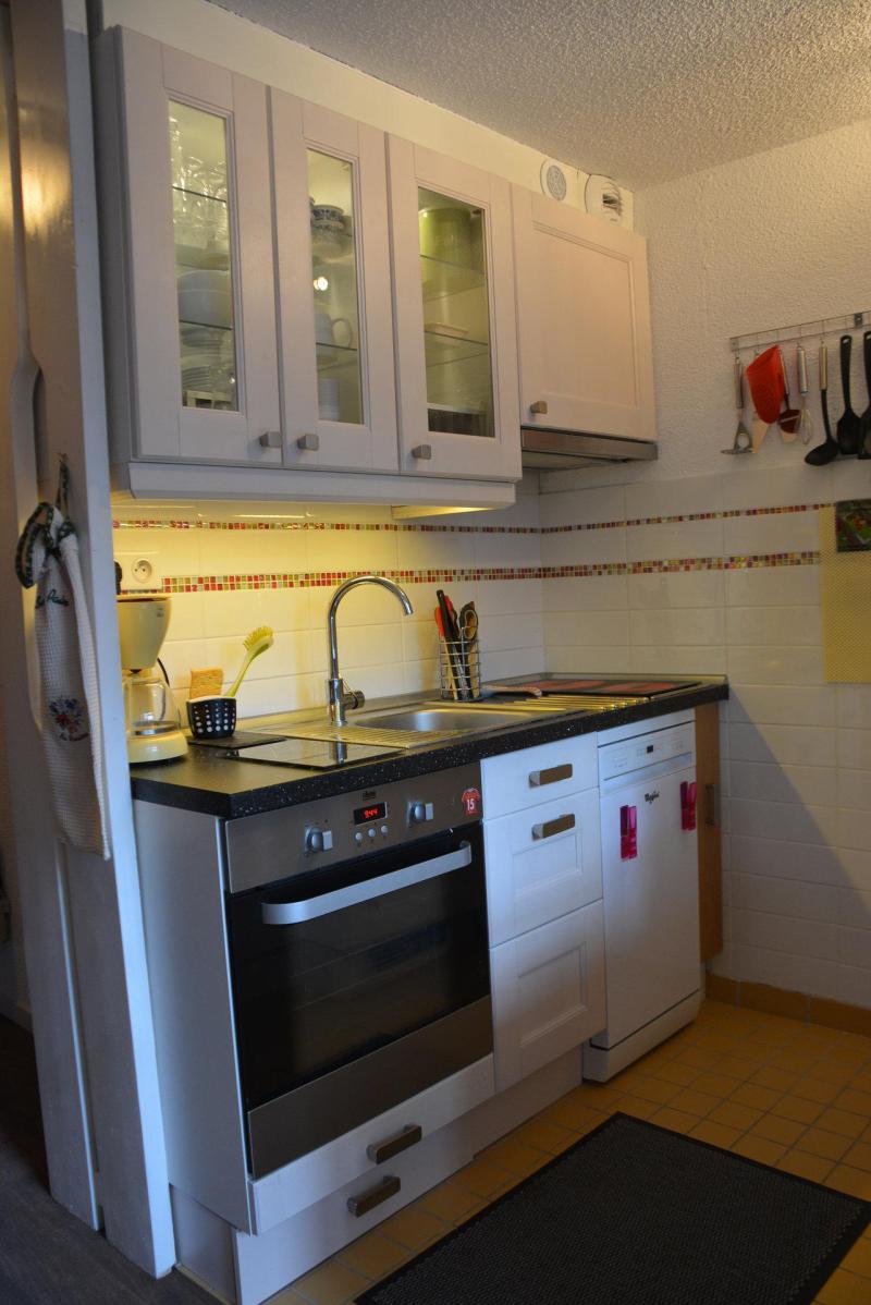 Vakantie in de bergen Appartement duplex 2 kamers 6 personen (3415) - Résidence l'Aiguille Grive 3 - Les Arcs - Keukenblok