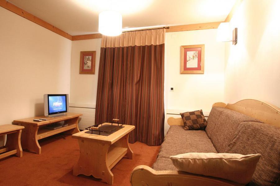 Urlaub in den Bergen 2-Zimmer-Berghütte für 4 Personen - Résidence l'Alba - Les 2 Alpes - Wohnzimmer
