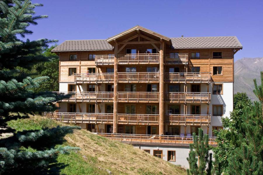 Urlaub in den Bergen Résidence l'Alba - Les 2 Alpes - Draußen im Sommer