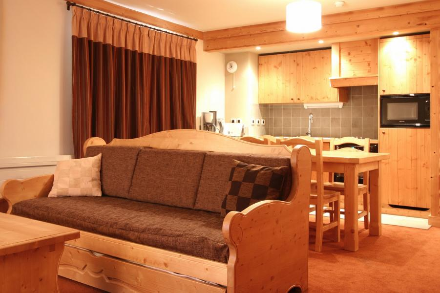 Vakantie in de bergen Résidence l'Alba - Les 2 Alpes - Bedbank