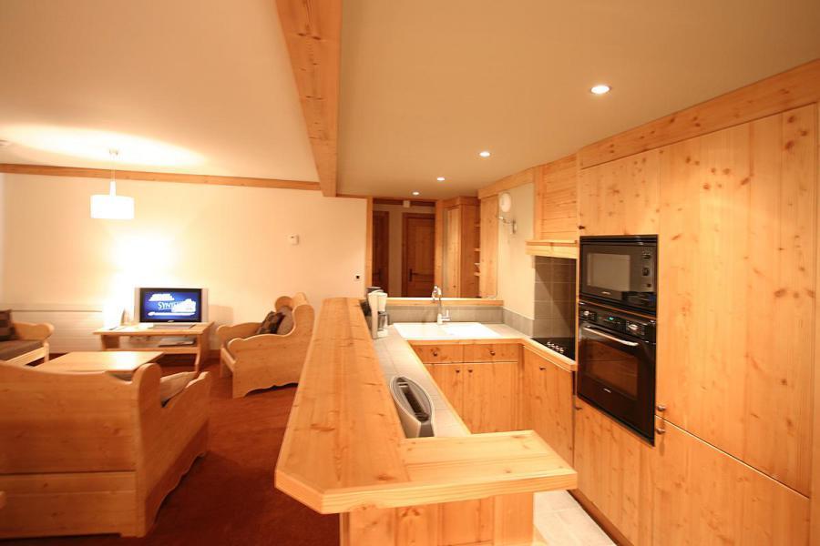 Urlaub in den Bergen Résidence l'Alba - Les 2 Alpes - Küche