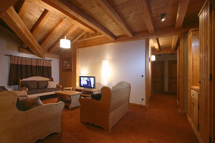 Vakantie in de bergen Résidence l'Alba - Les 2 Alpes - Zitbank