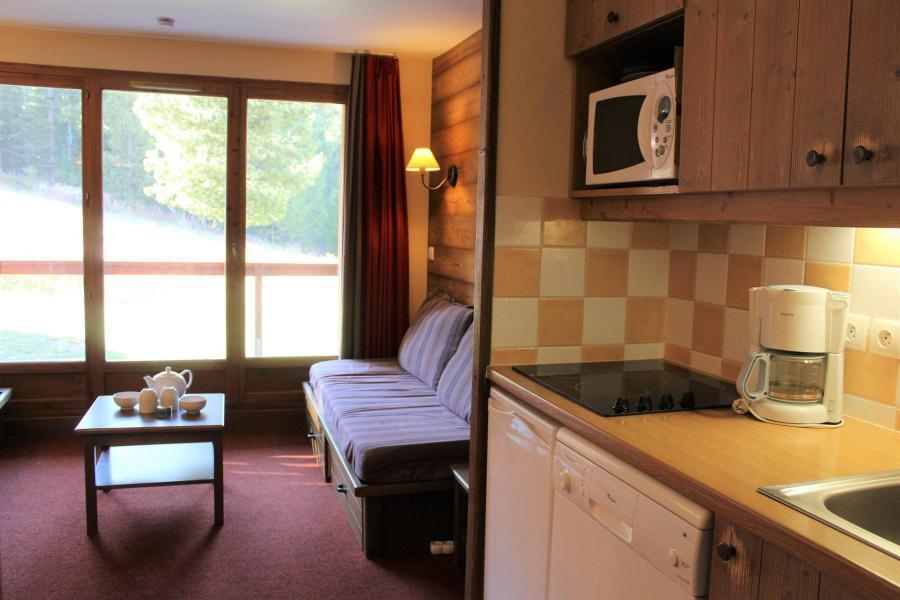 Vacaciones en montaña Apartamento 2 piezas para 5 personas (B010) - Résidence l'Albane - Vars - Alojamiento