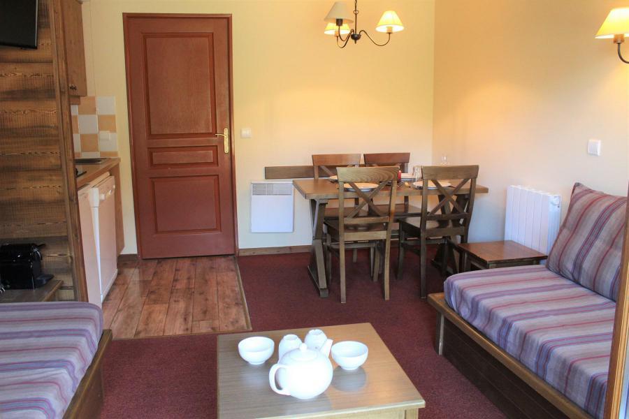 Vacaciones en montaña Apartamento 2 piezas para 5 personas (B010) - Résidence l'Albane - Vars - Estancia