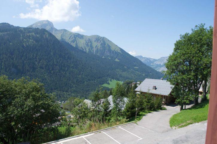 Vacaciones en montaña Apartamento 2 piezas cabina para 4 personas (6) - Résidence l'Alexandra - Châtel - Verano